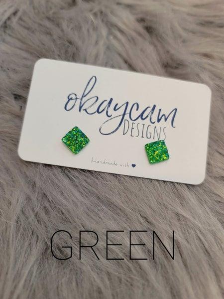 OkayCam 10mm Square Druzy