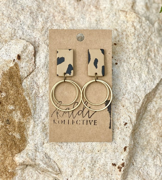 Wild About Clay Earrings