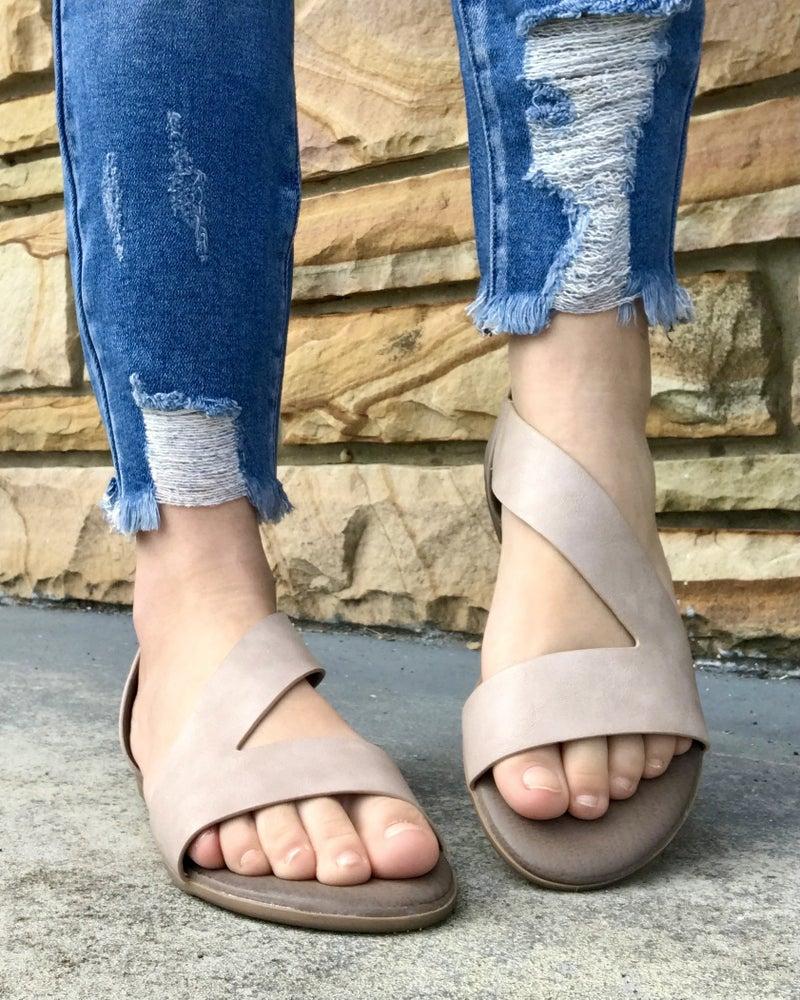 The Make-Up Gracie Antelope Sandal
