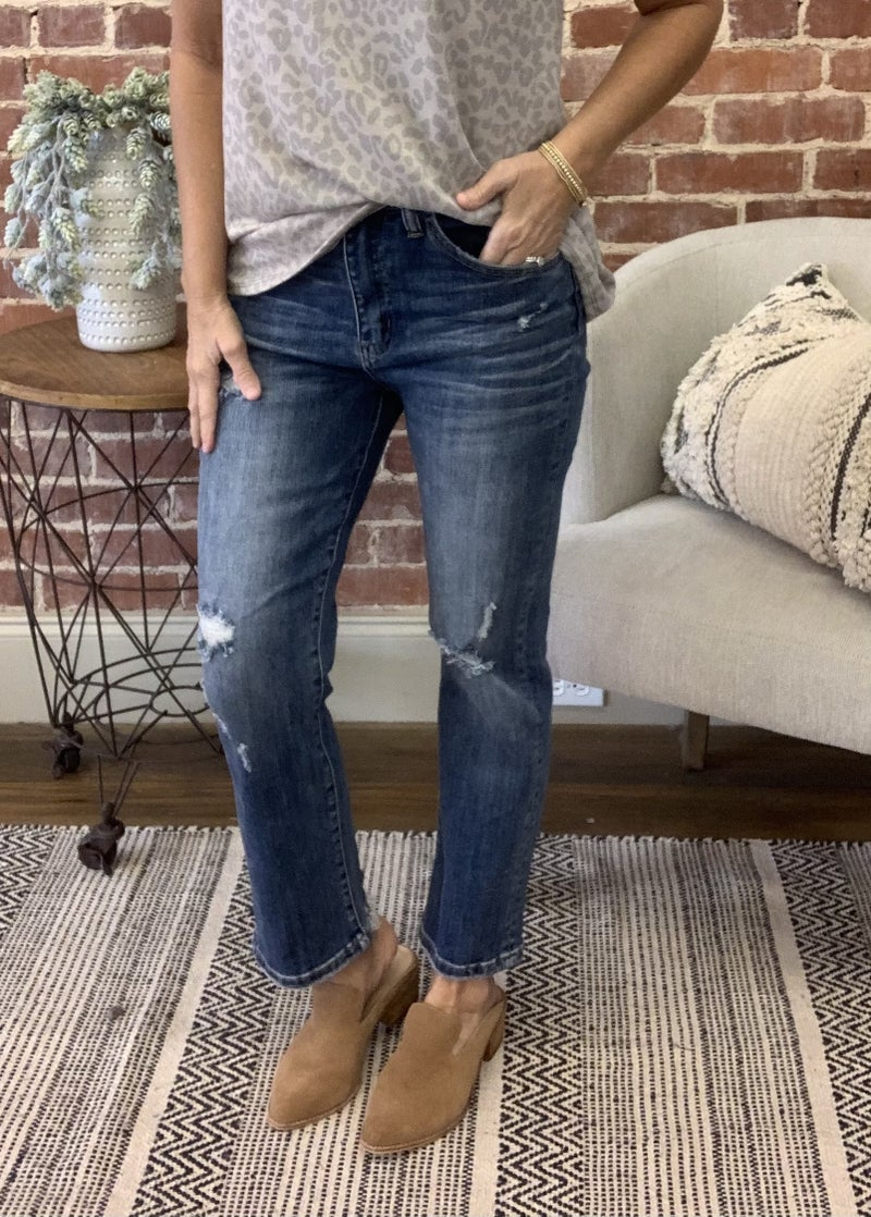 Super Stretch Ankle Flares