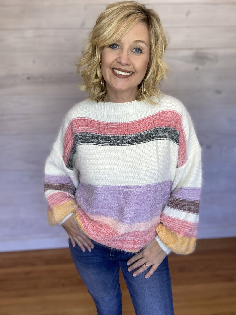 Super Soft Mohair Yarn Cozy Sweater