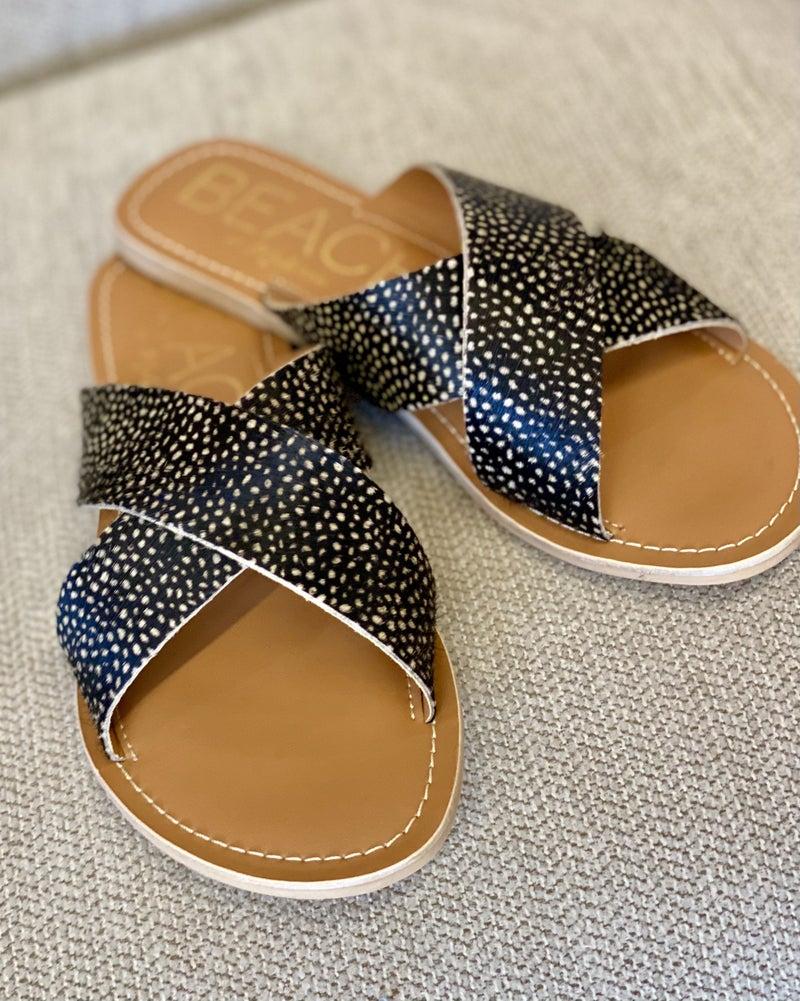 Amelia Coconuts Slide Sandals