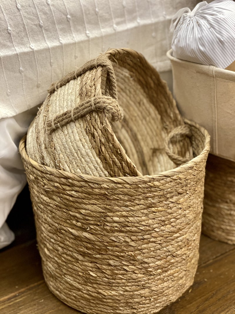 Set of 3 Rope Baskets