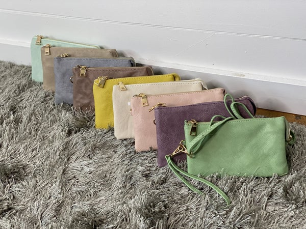 Totally Tax Free Weekend Sale* Spring 3 in 1  COLOR Crossbody/Wristlet/Wallet