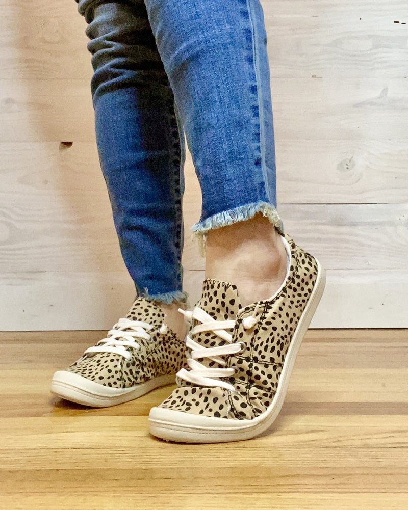 WHY WAIT TILL FRIDAY- PRE FRIDAY BLACK FRIDAY SALE-Cheetah Comfy Slip On Sneaks