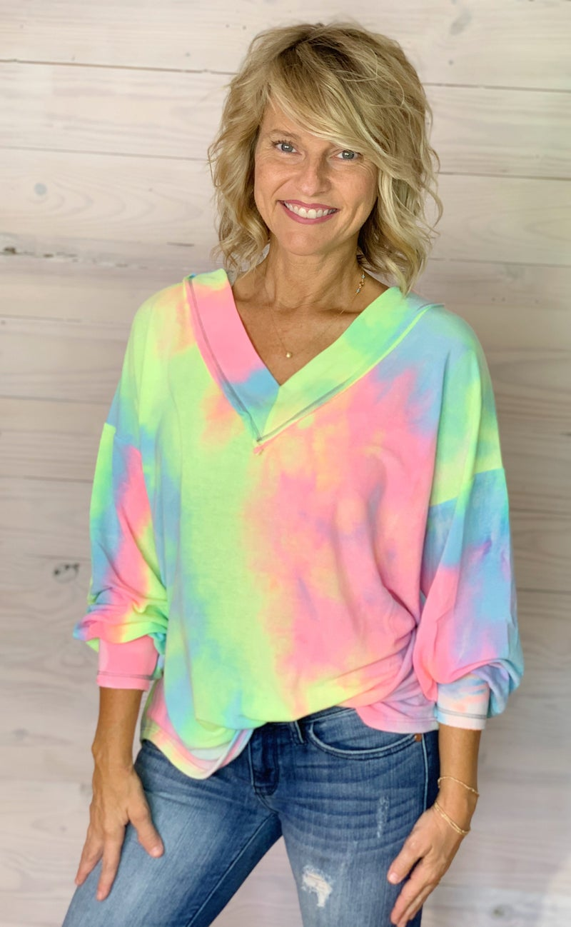 Play it Cool Tye Dye Top