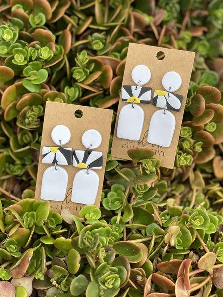 Flowers Of Clay Earrings