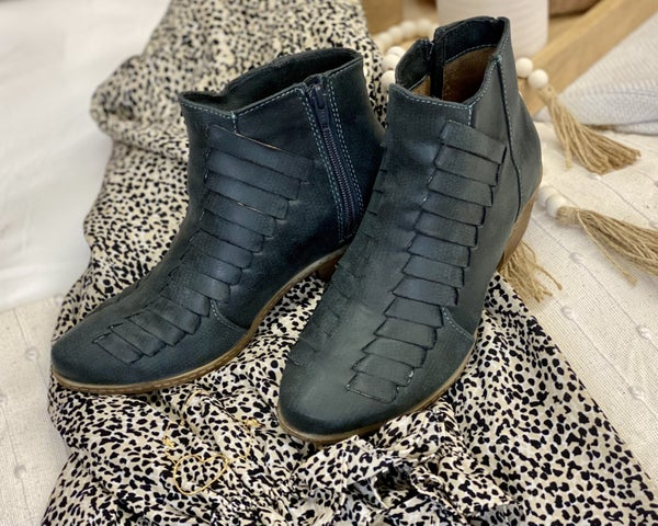 Isabel Teal  Booties *Final Sale*