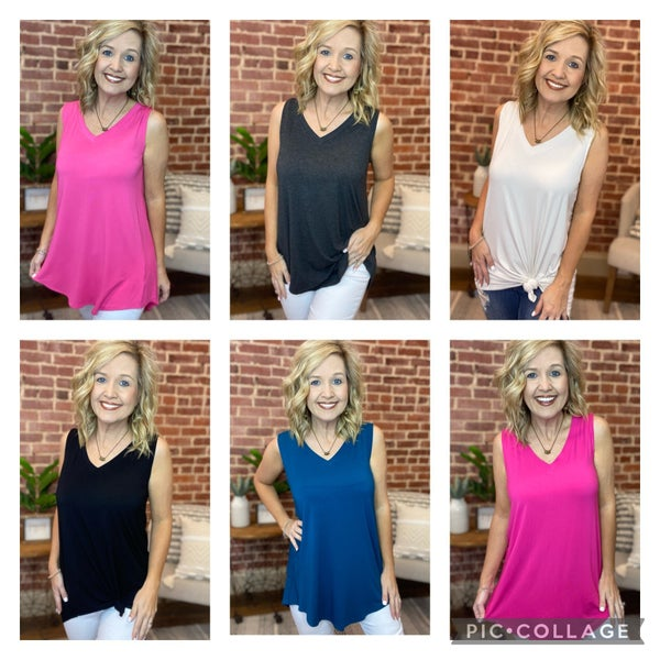 Guess WHAT?!? It's TANK time!!! $13.99 intro special! All sizes!