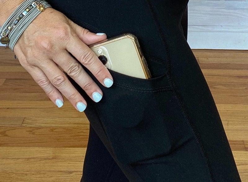 Butter Soft Capri Legging with Phone Pocket!