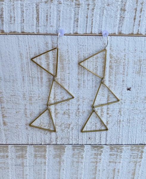 Triangles Of Fun Earrings