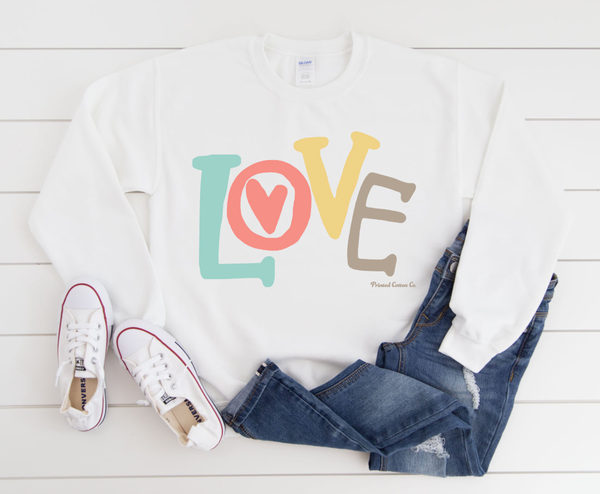 LOVE Sweatshirt! *Final Sale*
