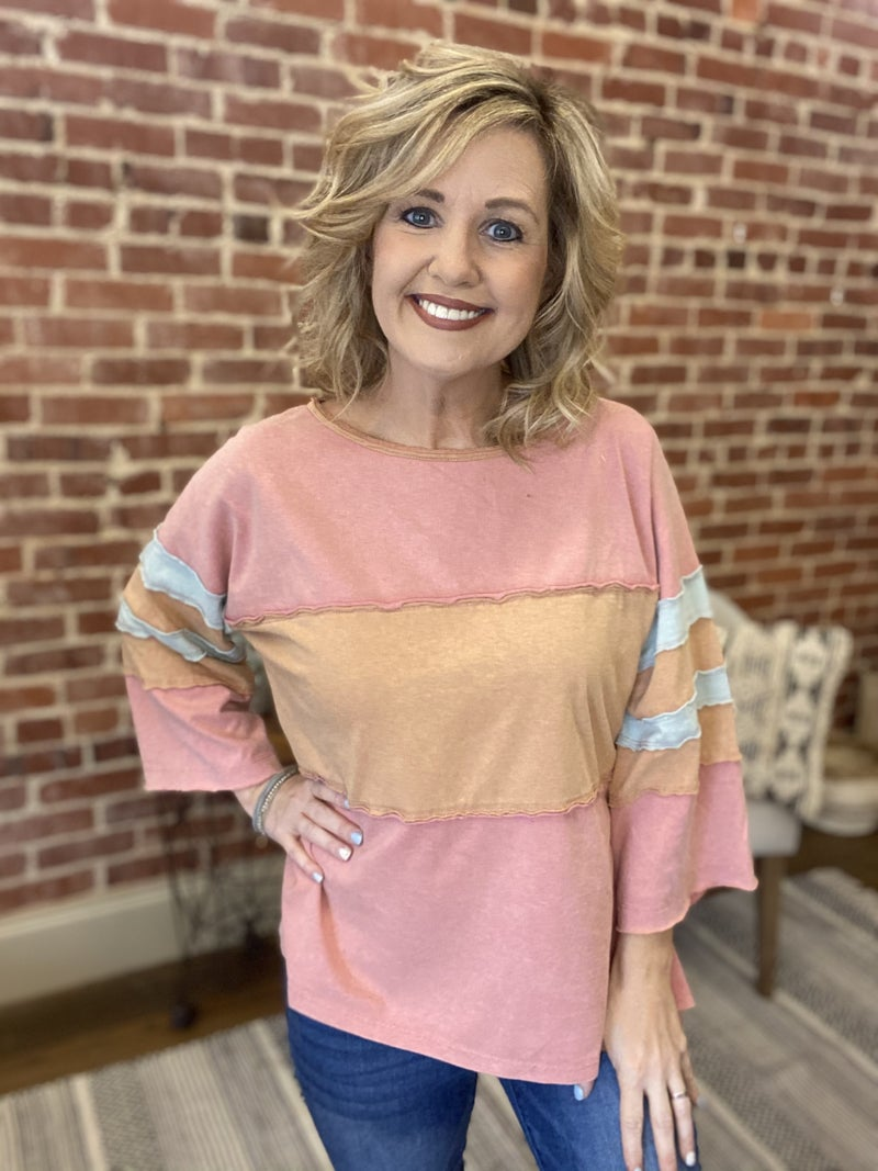 Spring Forward Top { S-3X}