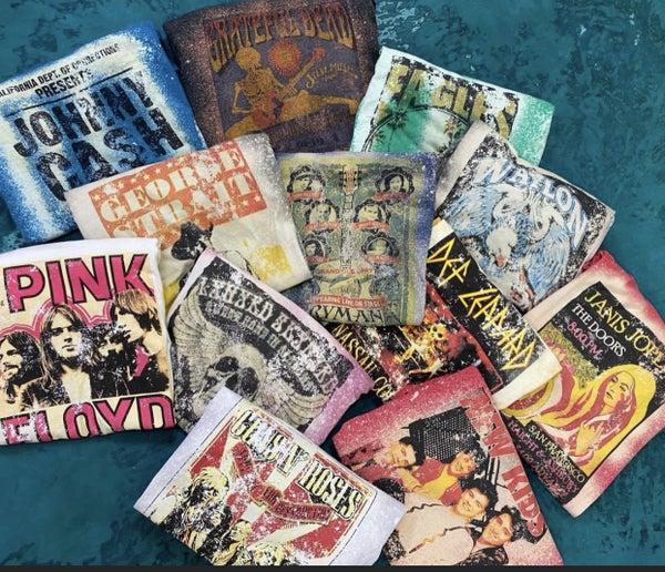 Vintage Concert Tees