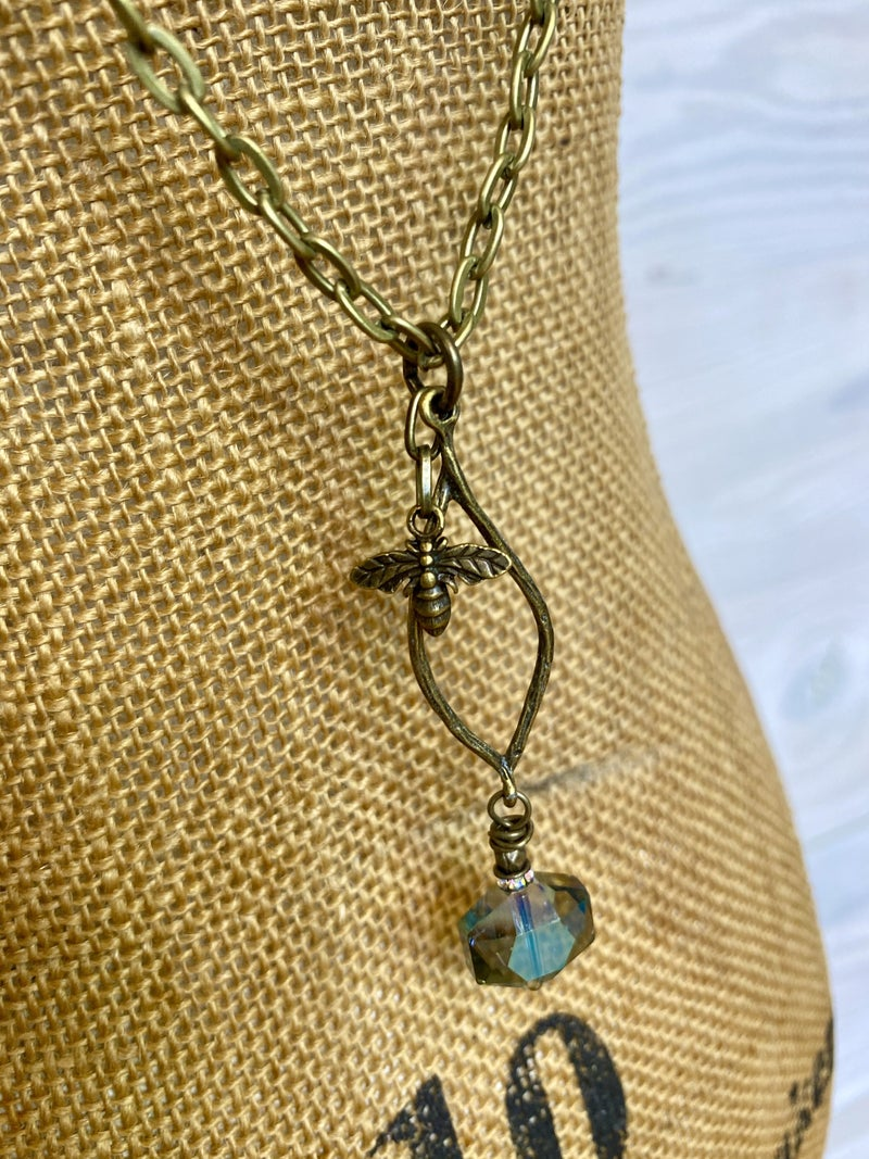 Simple Bee-Dazzler Necklace or Earrings