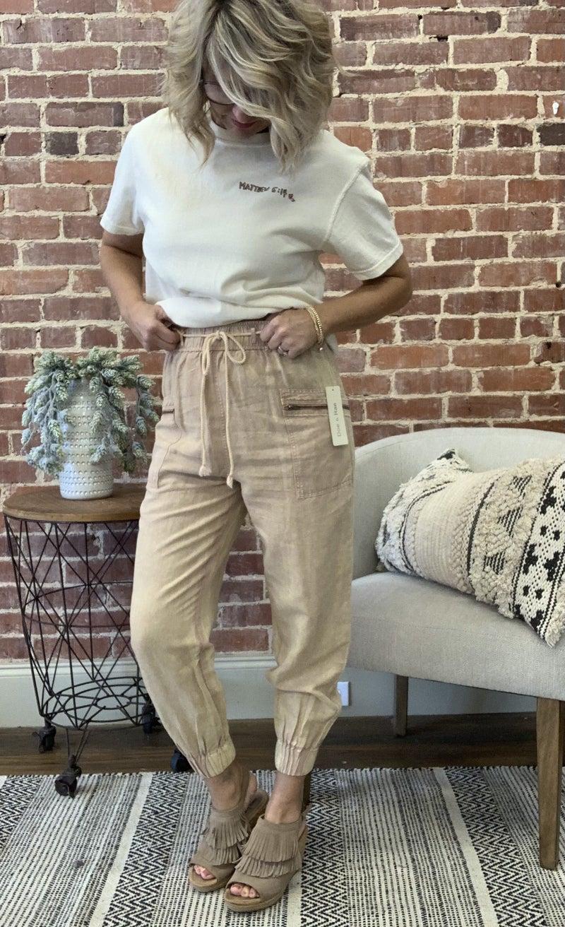 Zippered Trendy Jogger