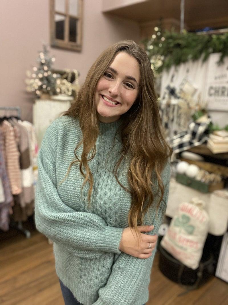 Softest Seafoam  Sweater