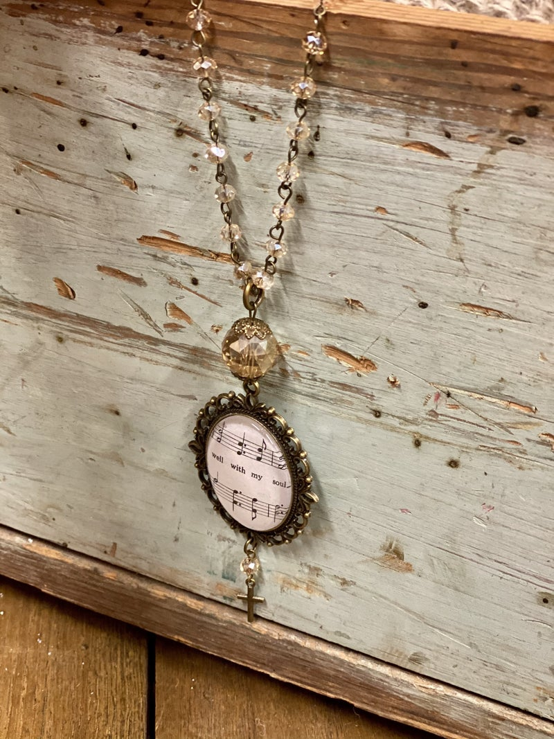 The Hymnal Necklace