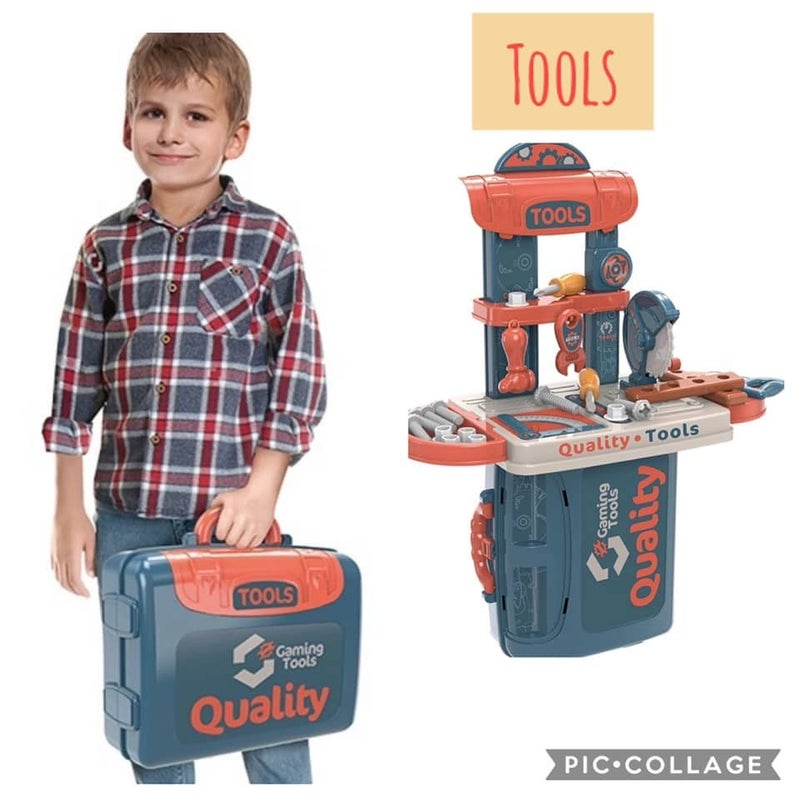 Cyber Monday Special - Playsets in a Case or Backpack~ Perfect Play for Home or On the Go!!