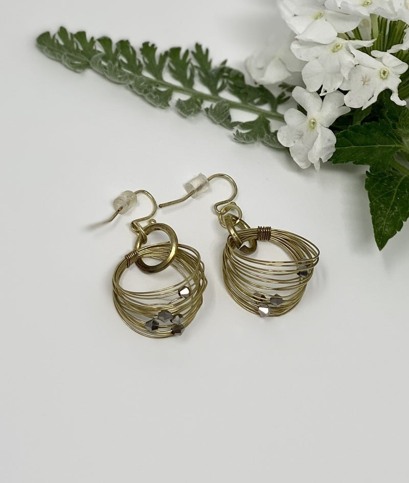 Nested Wire Earrings