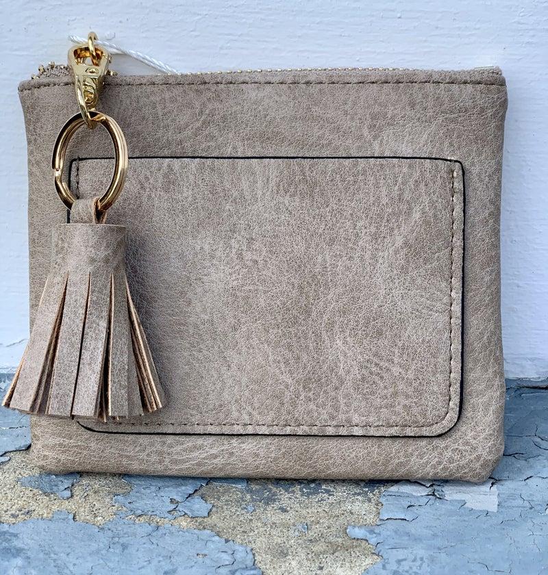 Cute Tassel Keyring Wallet