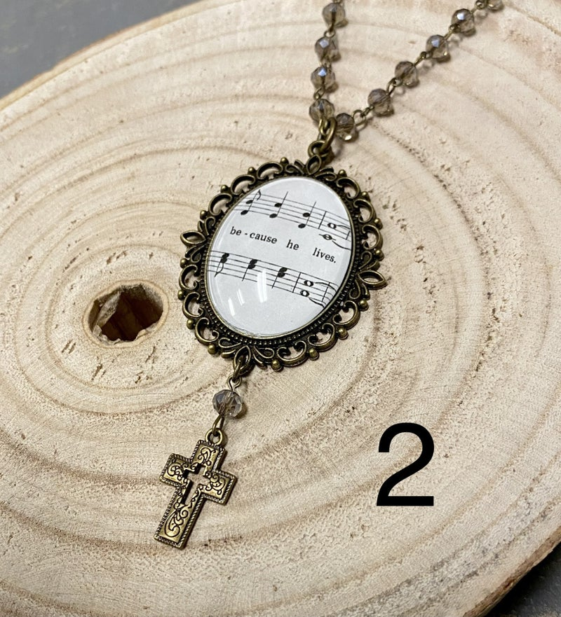 LAST OF The Hymnal Necklaces this Season
