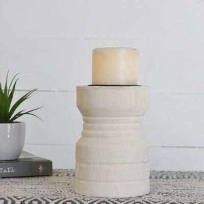 Small Wooden Candle Stand