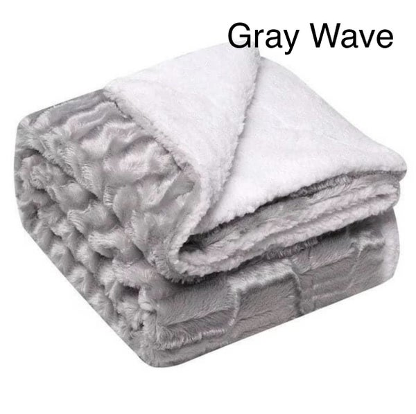 Luxe Faux Fur Blankets! *Final Sale*