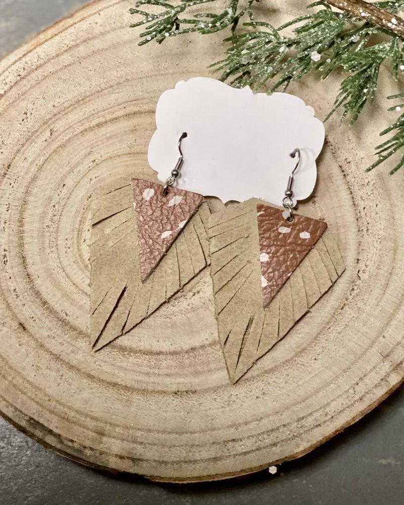 Antelope Leather Earrings