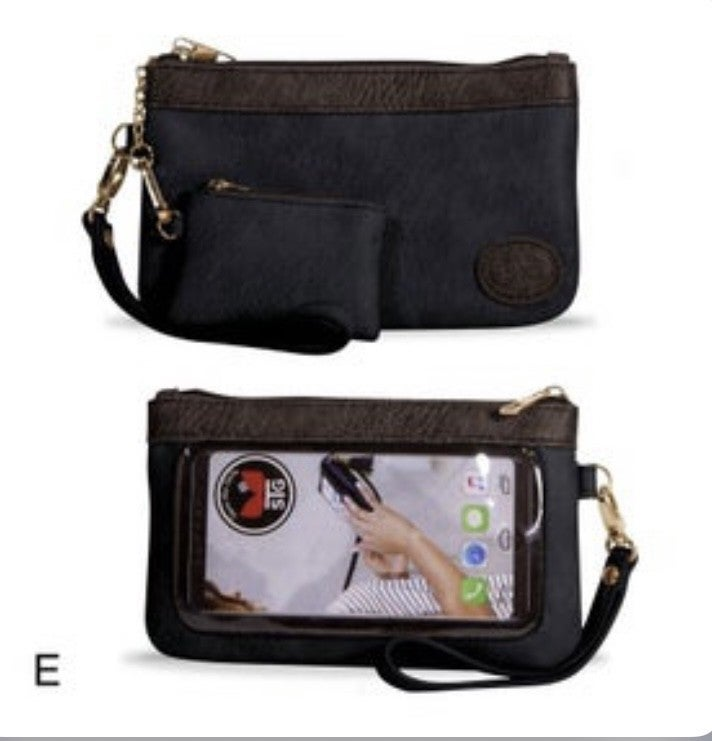 Save the Girls Touchscreen purses!!  The Clutch Preorder!