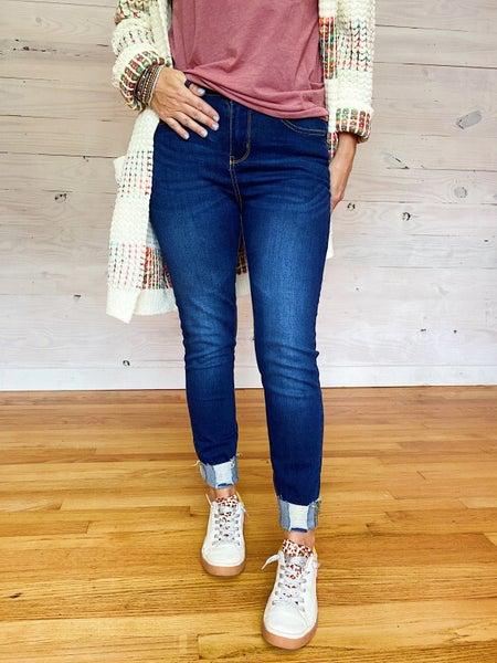 Dark Blue Age Jeans
