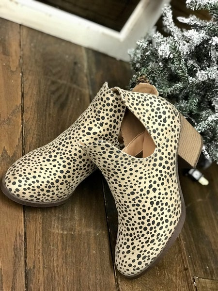 WHY WAIT TILL FRIDAY- PRE BLACK FRIDAY SALE- All About Cheetah Bootie *Final Sale*
