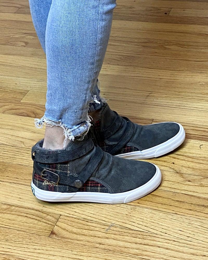Blowfish Machiko Plaid In The Back Sneakers