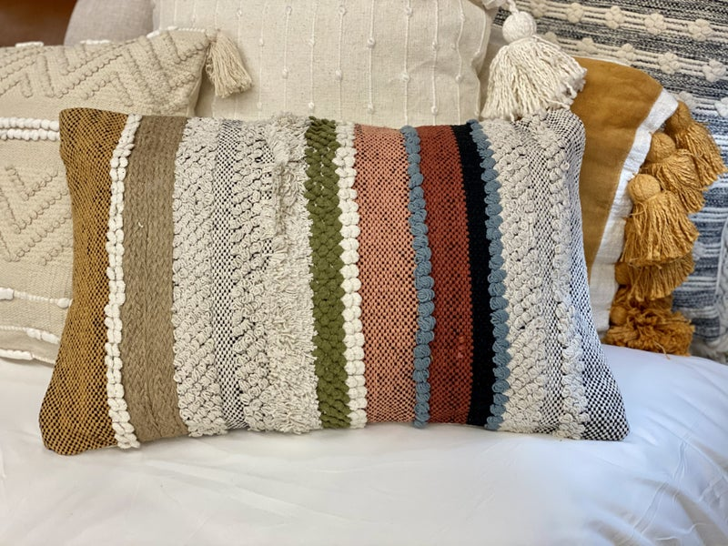 14x22 Hand Woven Aba Pillow