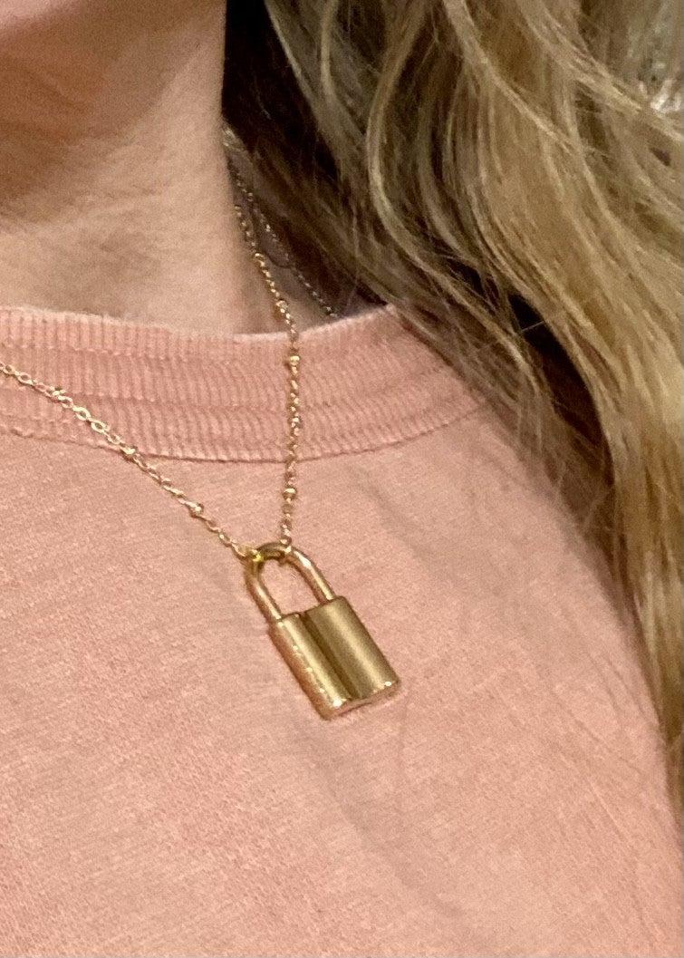 Little Lock Necklace