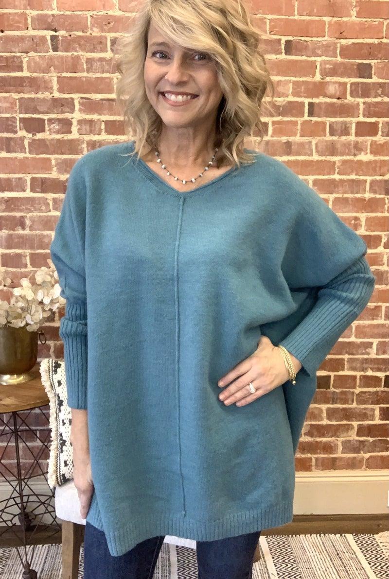 Easel Tunic Sweater
