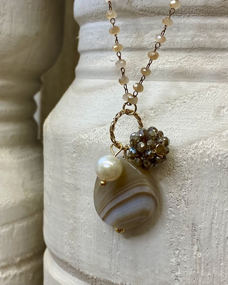 Simple With A Bit Of Sparkle Necklace
