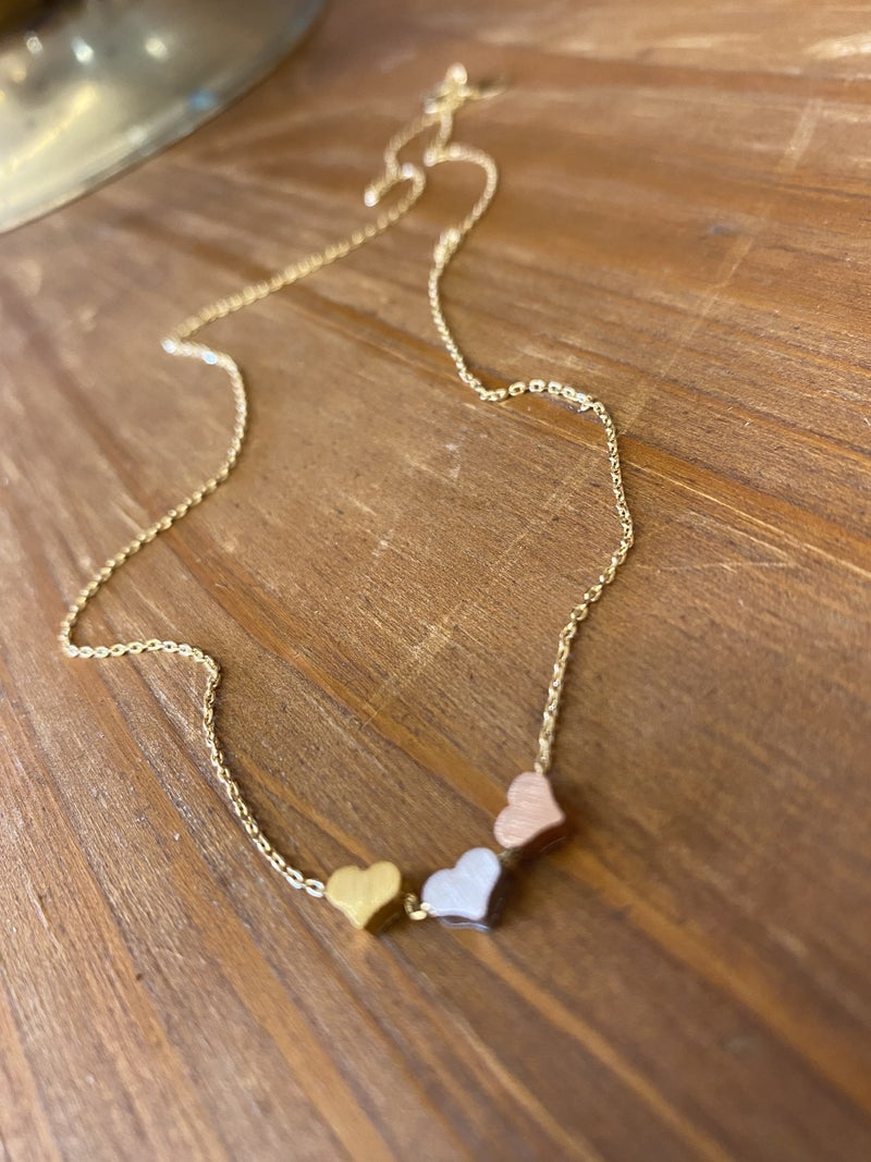 Hearts on Hearts Necklace