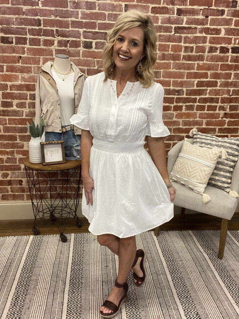Entro Amazingness Dress  ( White)