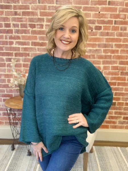 Sweater Weather LOVE! New teal color!