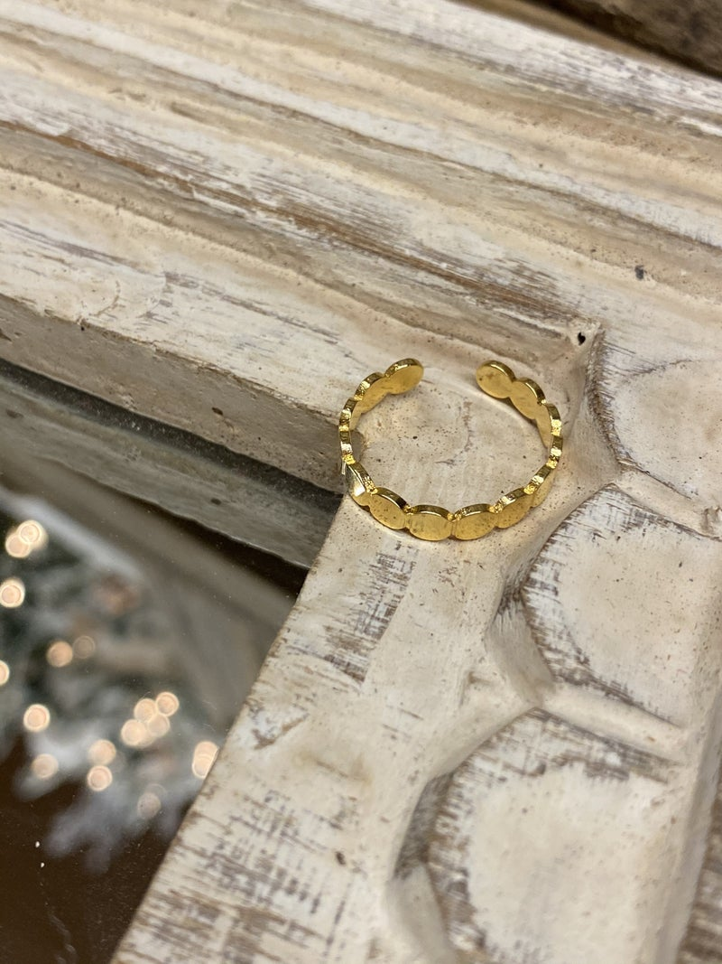 Geo Gold Ring
