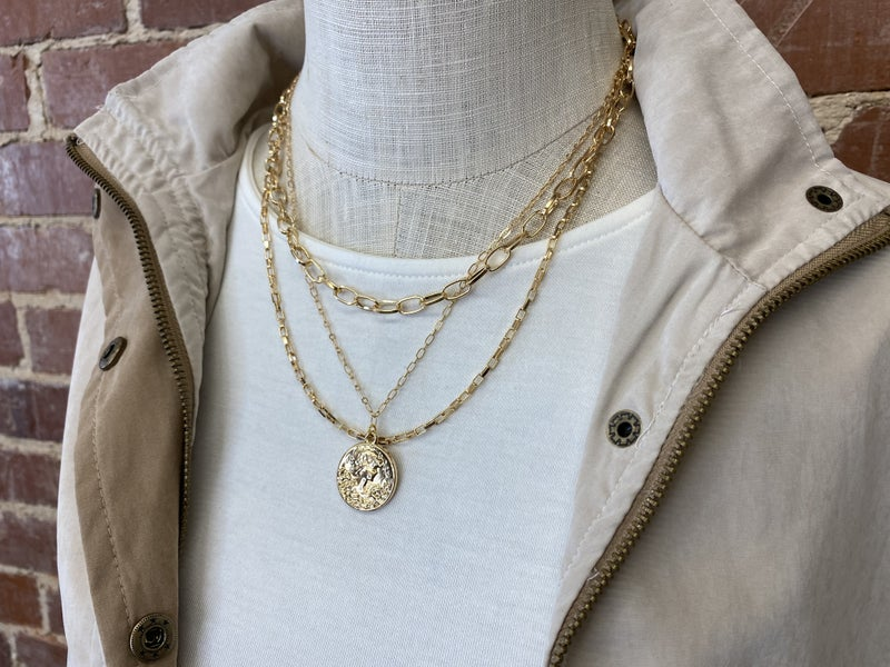 Lauren Kenzie Layers Of Chains Necklace