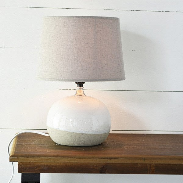 Oatmeal Ball Lamp