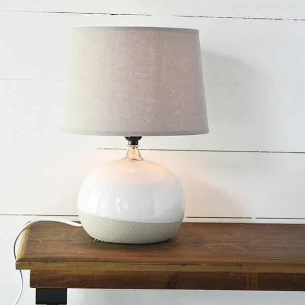 Oatmeal Ball Lamp