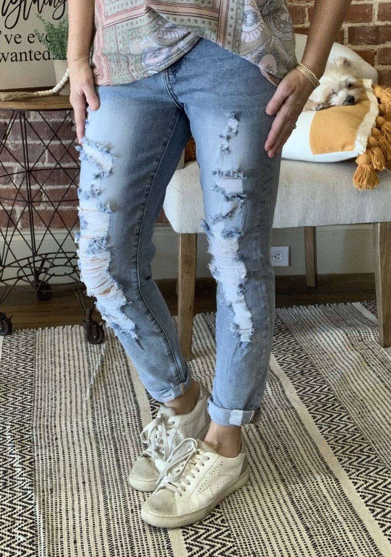 Jerica Relaxed Fit Jeans