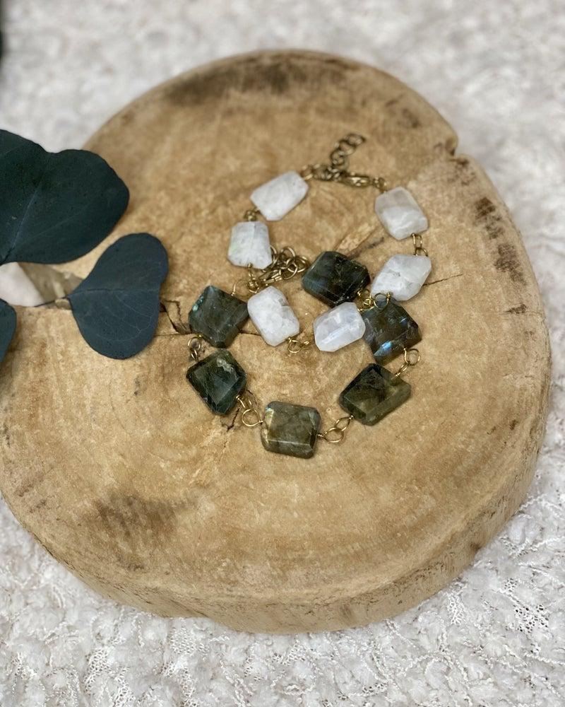 Gypsy Moon Stone Bracelet
