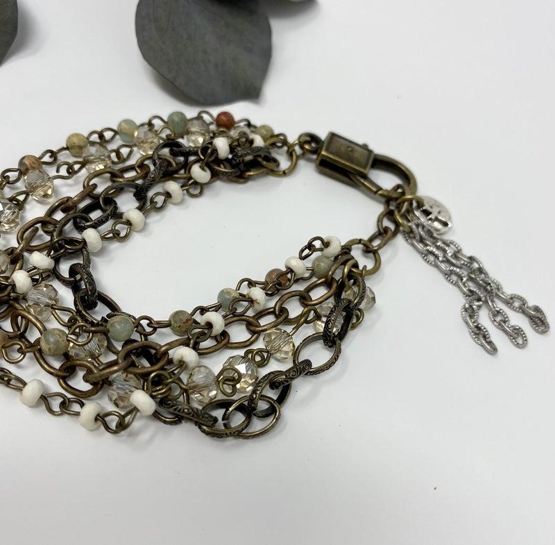 Sunrise Chain Medley Bracelet