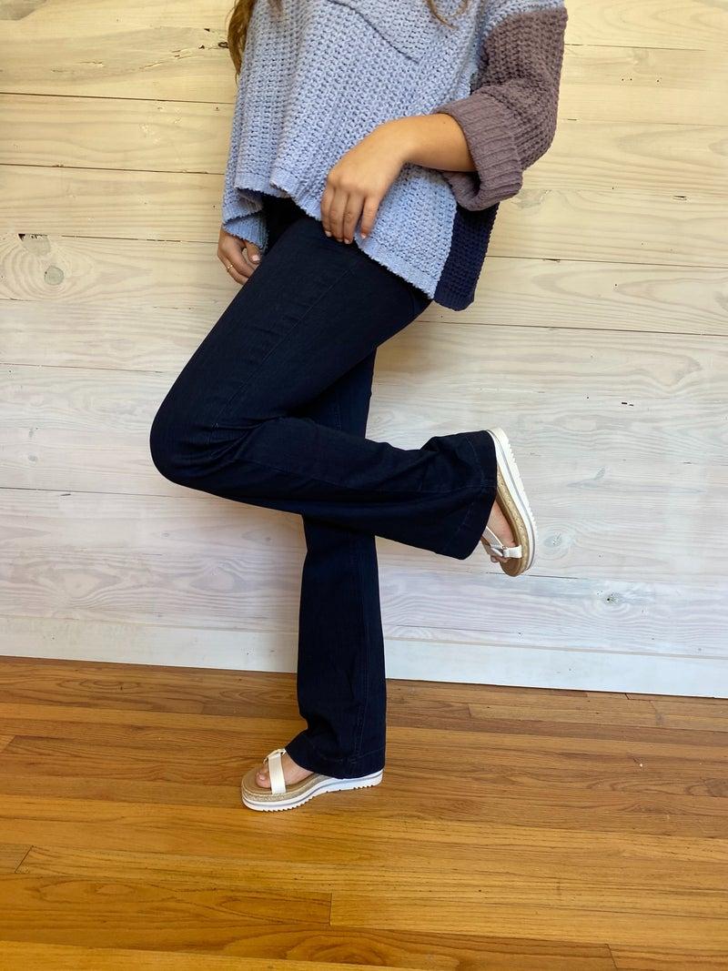 New Dark Cello Pullon Jeans