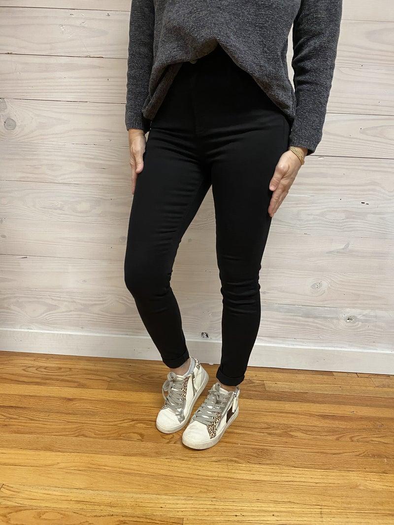 Cello Black Stretch Jeans