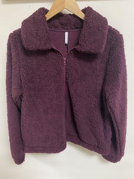 Teddy Bear Zipper Jacket